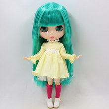 Factory Neo Blythe Doll Green Hair Jointed Body 30cm