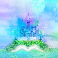 Thin Fabric Cloth Printed Photography Background Children S Castle Backdrop 5ft X 7ft D 749