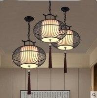 Черный Ретро подвесные светильники крючок для домашнего освещения Modern Vintage Клетке огни провода лампа промышленных клетке Товары для птиц з