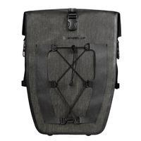 Cycling Bike Bag Waterproof Bicycle Rear Rack Bag Tail Seat Trunk Bags Pannier 27L Big Basket Case MTB Bike Accessories Black
