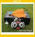 Power Up Hélice Aeronaves para Volar Planeadores Modelo Avión De Papel eléctrica Kit de Conversión de Aviones Niños DIY Juguetes Educativos
