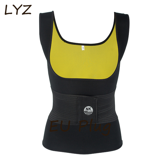 efc829036de97 2018 Sexy Body Shaper Shirt Women Neoprene shirt Slimming Shaper Hot  Shapers Slim Shirt Redu Tops Chest Abdomen Weight Loss Vest