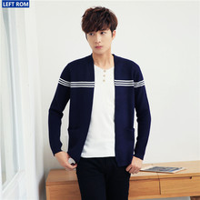 50%discount Asian hot men's casual sweater Simple youth fashion slim fashion