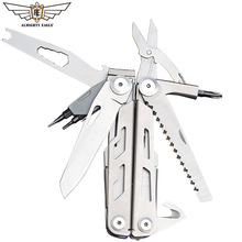 ALMIGHTY EAGLE Multifunctional plier High quality stainless pliers Tweezers scissors knife Camping Outdoor Hiking quipment New