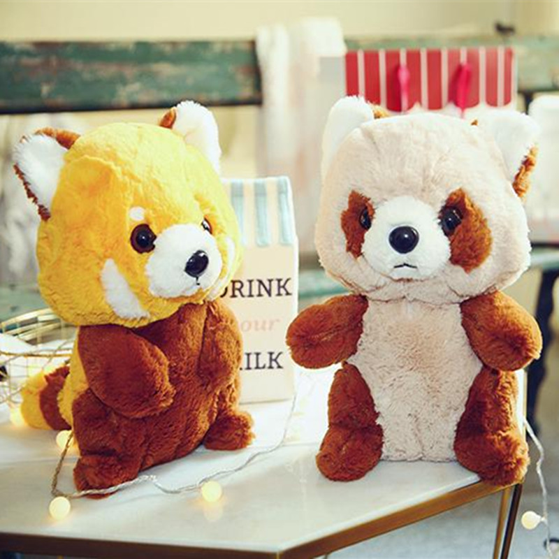 30cm 40cm Raccoon Soft Stuffed Doll Biscuit Style Raccoon Plush Toy Raccoon Bear Soft Doll Gift For Lovers And Kids 1pc