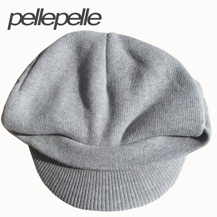 0488be9823708 2015 new pellepelle brand men s casquette winter hat warmth and leisure  male peaked cap Knitted men s hat-in Visors from Apparel Accessories on ...