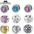 Gagafeel fit pandora pulseira pulseiras 925 grânulos de prata esterlina encantos originais populares tipos de contas para fazer jóias de presente