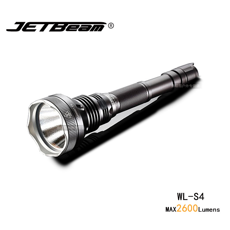 лучшая цена Original Jetbeam WL-S4 Hunting Light Cree MTG2 Led Flashlight 2600 Lumens 18650 Battery For Searching Hunting Hiking