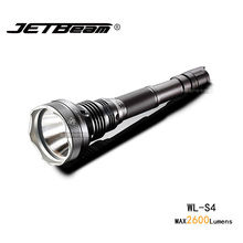Original Jetbeam WL-S4 Hunting Light Cree MTG2 Led Flashlight 2600 Lumens 18650 Battery For Searching Hunting Hiking