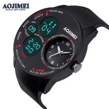 NEW DESIGN Men Clock Relogio Masculino Digital Sports Watches Double Time Countdown Relojes Waterproof LED Wrist Watch