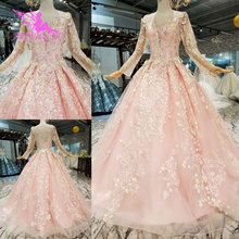 AIJINGYU Plus Size Dresses 2018 Gown Sleeve Wedding Dress