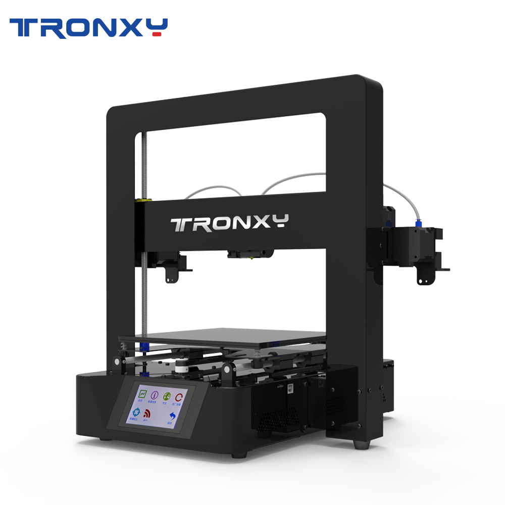 Tronxy 3D Printer X6 2E Desktop 3D Machine Lattice Glass Dual Color Printing
