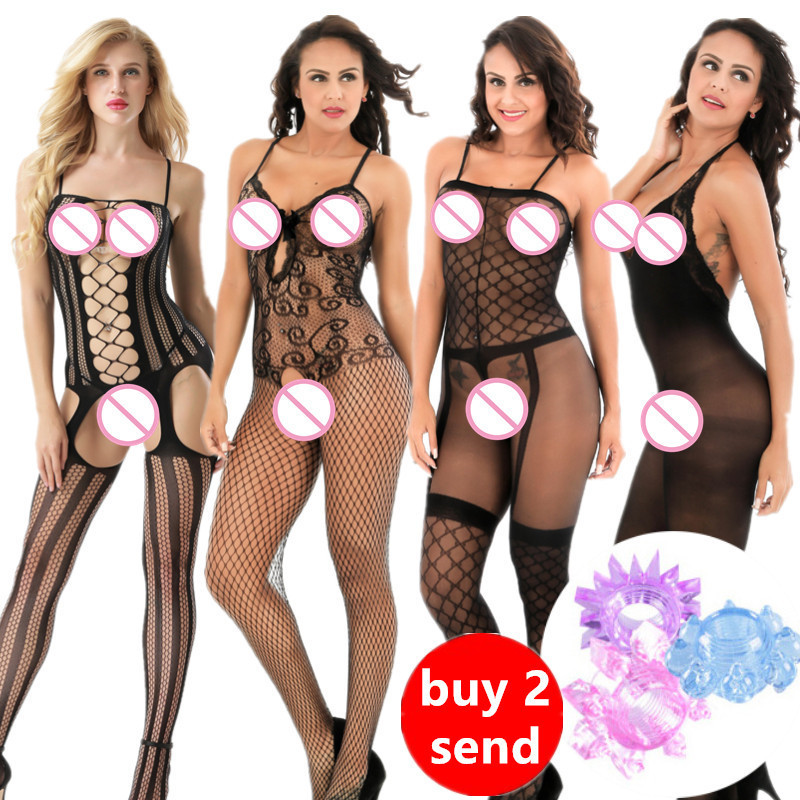 Porn Sexy Lingerie Womens Erotic Lingerie Hot Sex Products Sexy Costumes Color Underwear Slips Fishnet Intimates Goods Dress