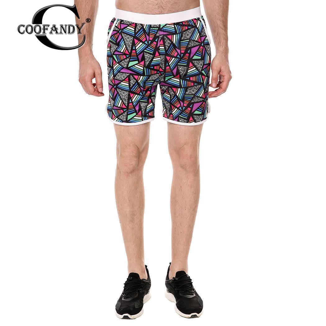 Swim Men Fashion Mesh Lining Mid-waisted Casual Runnning New Board Shorts