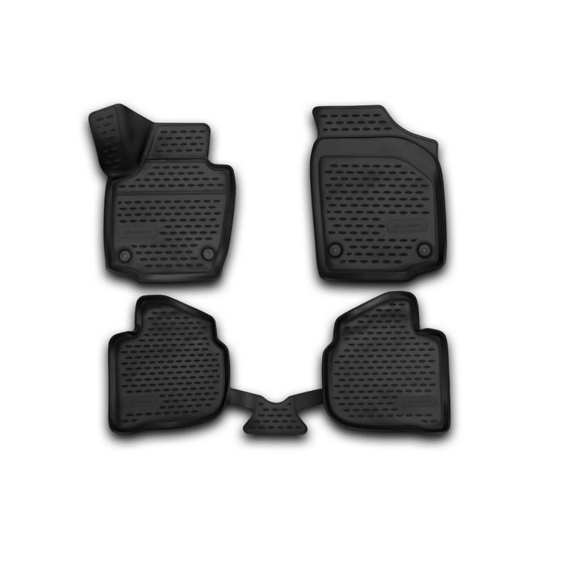 Car Mats 3D salon For VOLVO S60, 2013-> 4 PCs (polyurethane) масштабная модель volvo s60