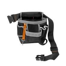 600D Oxford Tool Bag Belt Waist Pouch Pocket Outdoor Work Hand Tools Hardware Storage Electrician Gardening