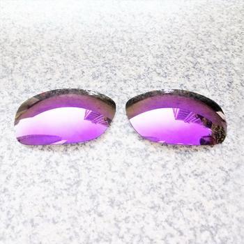 E O S spolaryzowane wzmocnione wymienne soczewki do okularów Oakley Ten-fioletowe fioletowe lustro spolaryzowane tanie i dobre opinie Eye Opening Stuff Poliwęglan Okulary akcesoria Fit for Oakley Ten Frame UV400 One size inches As your choice Reduces glare and impact resistant