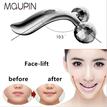 Face-lift Roller Massager Y Shape Roller Massager Face Massage Instrument Beauty Tool For Face Lifting Wrinkle Remove multifunction 3d small face massager roller 360 rotate balls face lifting machine v face wrinkle removal roller massager cleaner