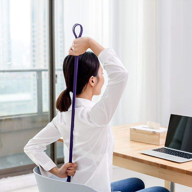 Image 2 - Xiaomi Mijia Qihao фитнес стрейч браслет в форме тела упражнения прочность натуральный латекс портативный подходит для спорта и фитнеса-in Умный пульт управления from Бытовая электроника