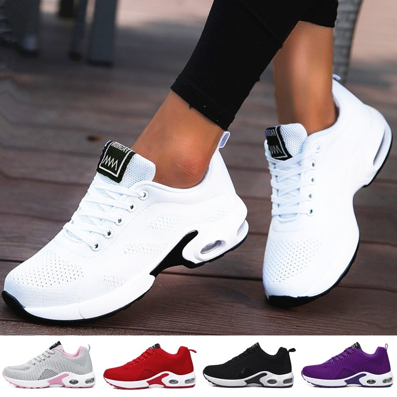 2019 Women Lightweight Sneakers Running Shoes Tennis Indoor Outdoor Sports Shoes Breathable