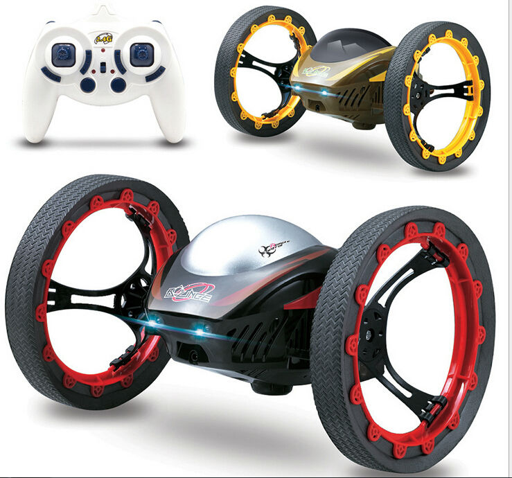 Newest 777-359 Rc All Terrain Stunt Racing Car 2.4GHz RC Cars Bouncing Flexible Wheels Remote Control SUV Car Inflatable tyres