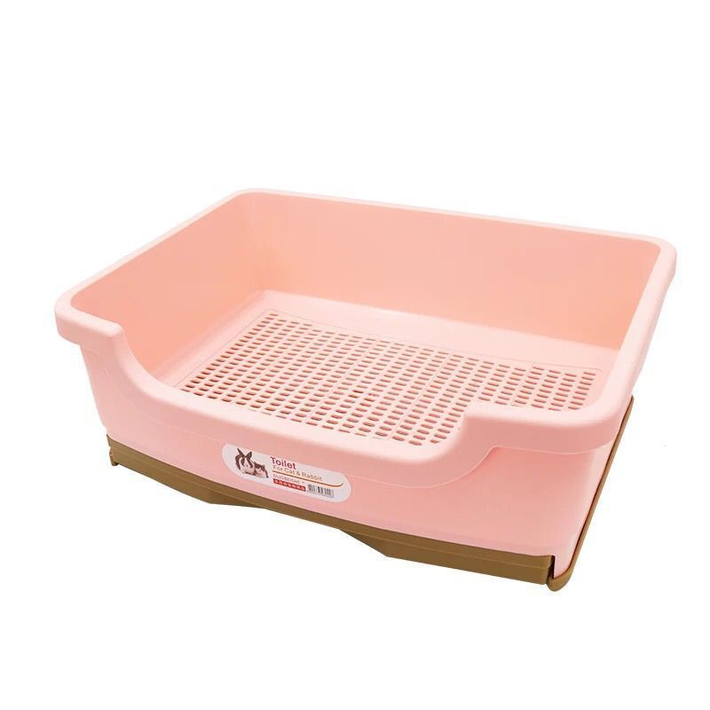 Crystal cat litter double-layer semi-closed cat toilet open large space foreign trade cat pot pine cat pottyCrystal cat litter double-layer semi-closed cat toilet open large space foreign trade cat pot pine cat potty