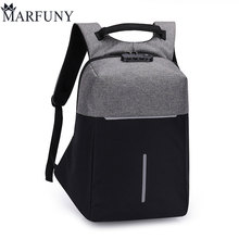 Fashion Male Mochila Leisure Travel Backpack Anti Thief Multifunction USB Charging Men 15inch Laptop Backpacks For Teenager 2018