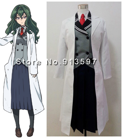 Shimoneta: A Boring World Where the Concept of Dirty Jokes Doesn't Exist school uniform Cosplay Costume Whole Set image