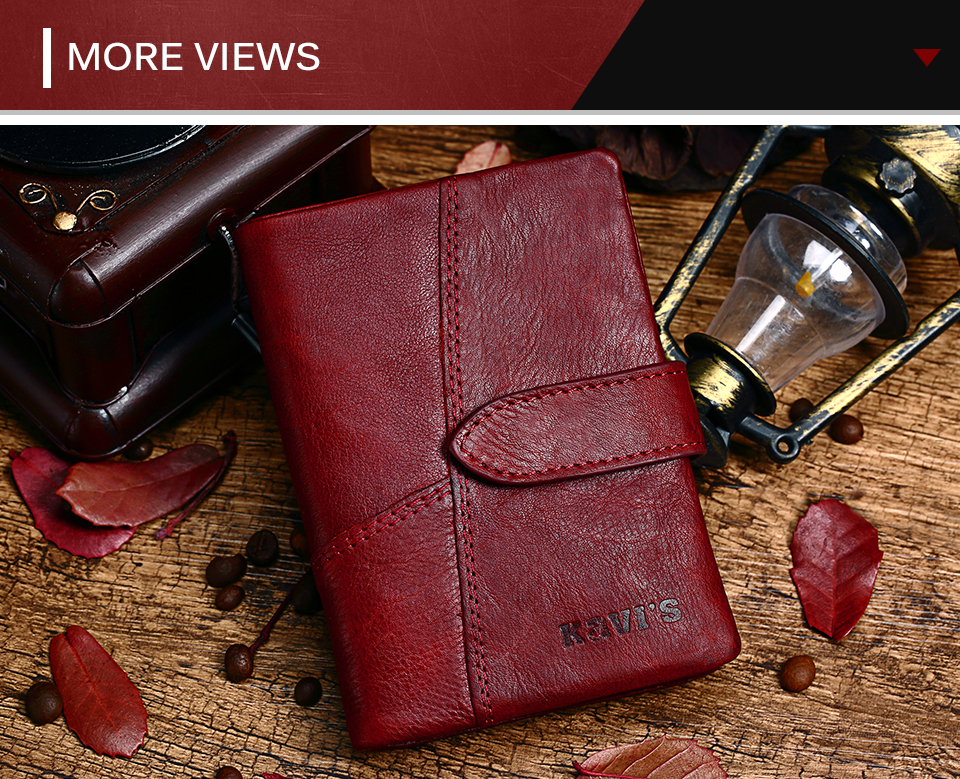 Topdudes.com - New 100% Genuine Leather Wallet with Coin Pocket