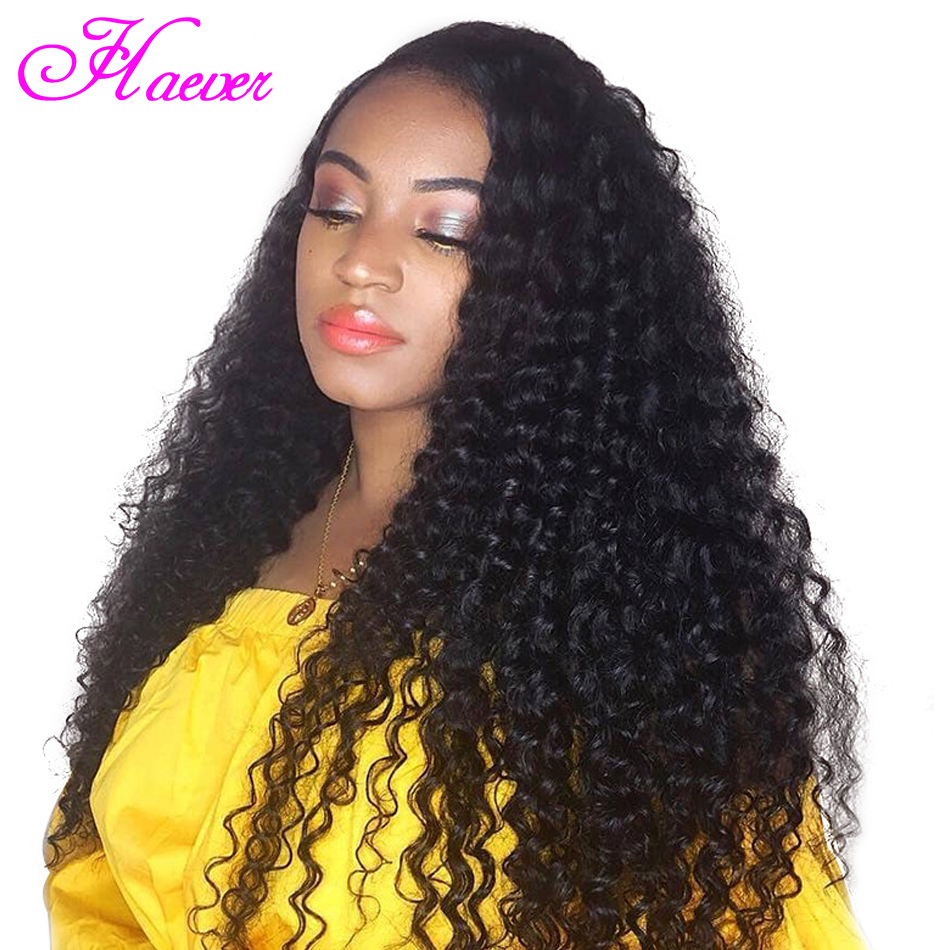 Peruvian Deep Wave Wig Lace Front Human Hair Wig With Baby Hair Pre Plucked Remy Human Hair Lace Front wig for Black Women(China)