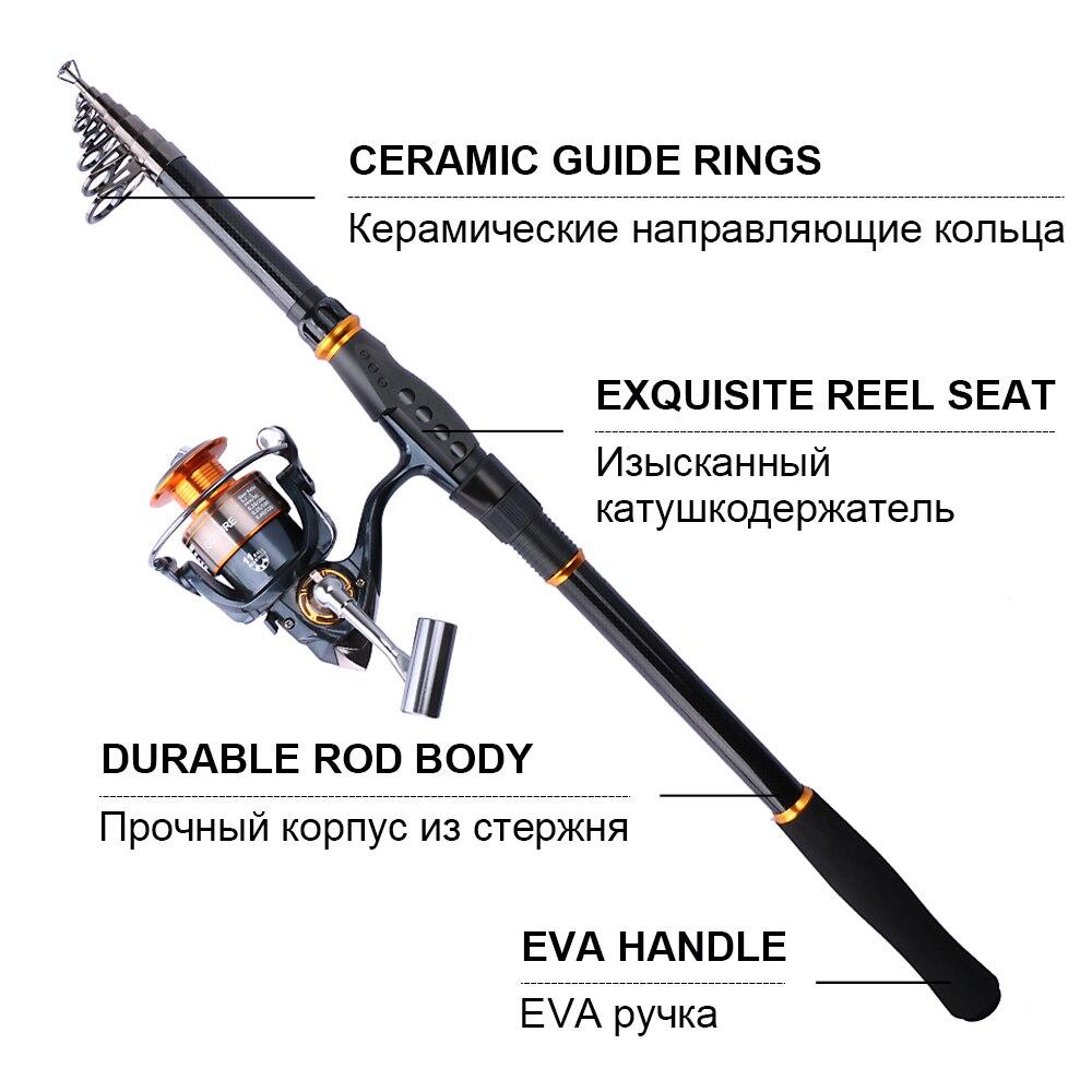 Goture Телескопическая удочка Морская - Рыбалка - Фотография 2
