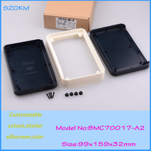 2 pcs/lot electronic enclosure junction box ip 54 boxes for electronic circuits 99x159x32 mm