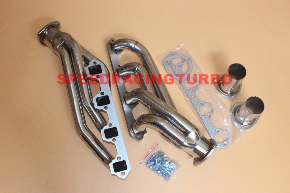 Exhaust Header FOR FIT Ford FIT Mustang FIT Patriot 1964-73 w 260,289,302, keluli tahan karat