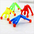 Colorful Funny Baby Toys Superman Climbing Glass Walls Sticky Plastic Spiderman Climb Kids Children Toy Gift Slime Viscous RT020