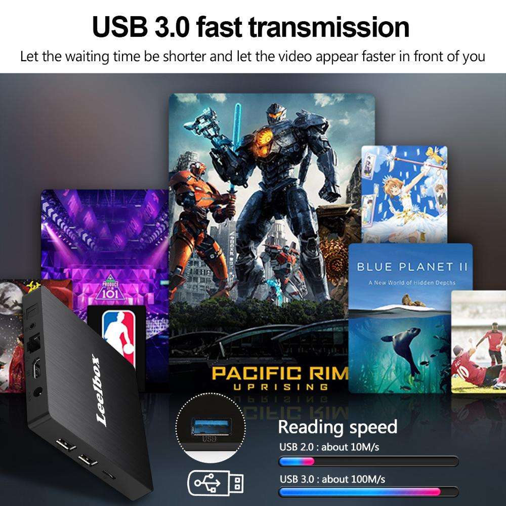 Image 4 - Android 9.0 Smart TV Box Android 9.0 4GB 64GB RK3328 Quad Core Q4 Max 2.4G Wifi H.265 4K HD Google Player Q4 Plus Set Top Box-in Set-top Boxes from Consumer Electronics