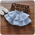 Moda Otoño Bebés Baby Girls Tutú Rayado Ocasional Volantes Pastel Princess Tutu Faldas MT984
