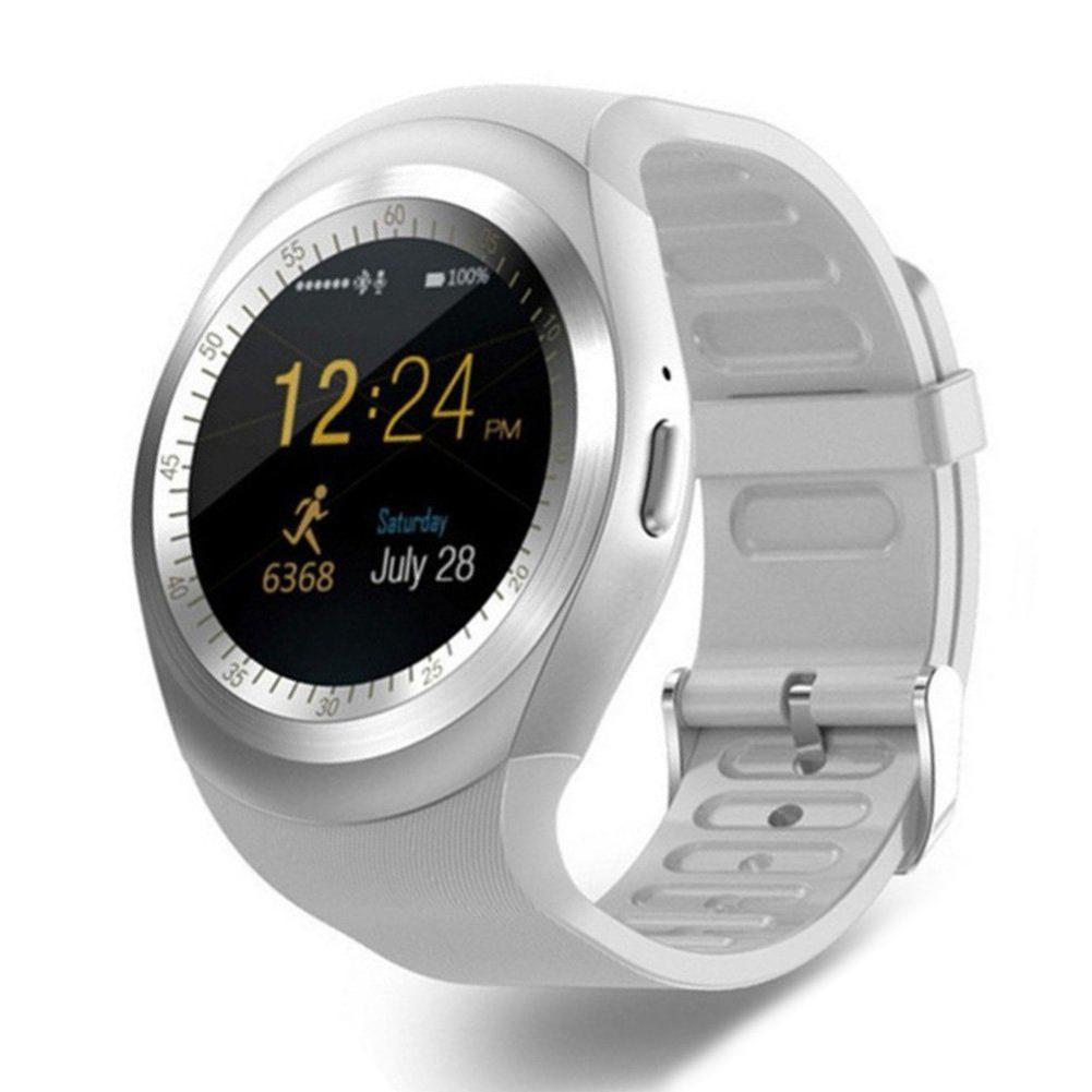 Bluetooth Y1 Smart Watch Relogio Android SmartWatch Phone Call GSM Sim Remote Camera Information Display Sports Pedometer умные часы smart watch y1