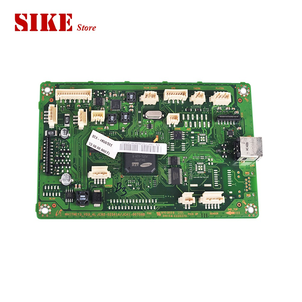 Logic Main Board Use For Samsung SCX-4650 SCX-4650N SCX 4650 4650N SCX4650 Formatter Board Mainboard laser printer main board for samsung scx 4835fr scx 4835 4835fd 4835fr scx4835fr formatter board mainboard logic board