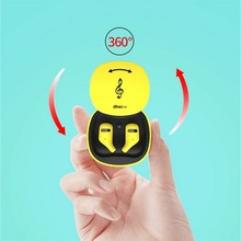 YEINDBOO Bluetooth Earphone Waterproof 5.0 Wireless Stereo Earbus Sport Headset With Microphone For Phone