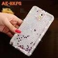 Diamond начинается Жидкий Блеск Цвета Блестка Песок Плывун Star Вернуться Cover Case для Samsung Galaxy S6 Телефон случаях для S6 край