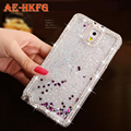 Diamond starts Liquid Glitter Color Paillette Sand Quicksand Star Back Cover Case for Samsung Galaxy S6 Phone cases for S6 Edge