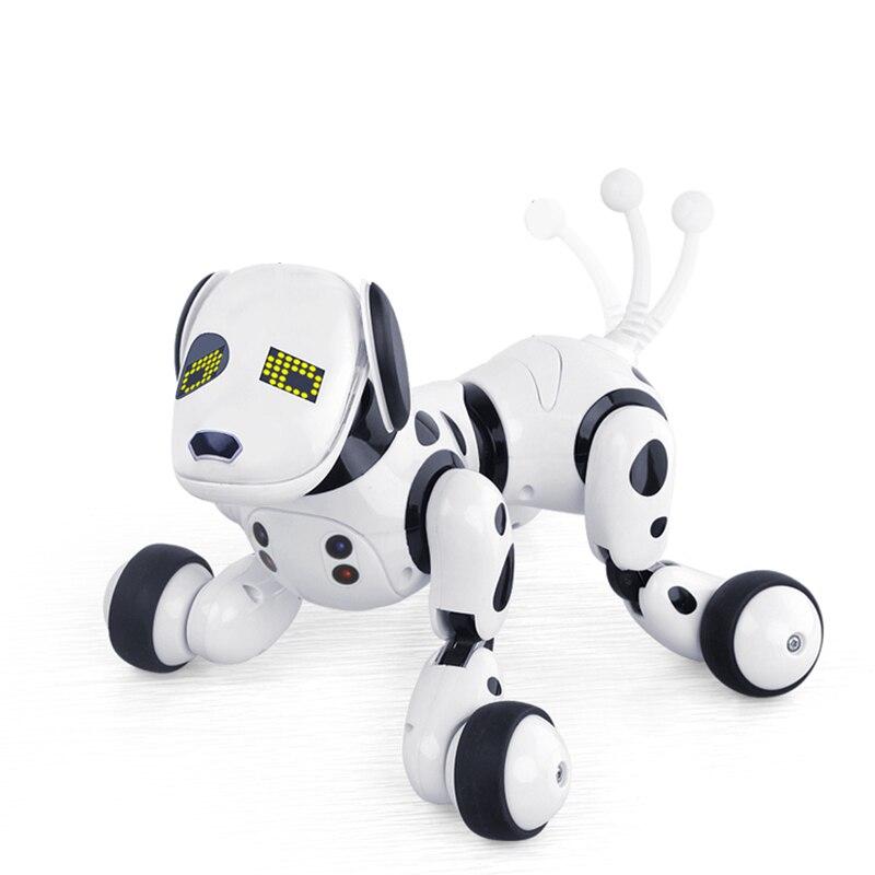 2.4G Sans Fil télécommande Intelligente Chien animal de compagnie électronique Éducatifs Enfants Jouet robot qui danse Chien sans boîte de cadeau d'anniversaire - 4