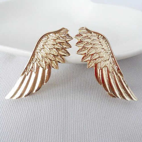 Bluelans Fashion Accessories Punk Wings Style Collar Pin Brooch for Women