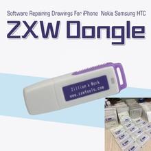D'origine Zillion x Travail ZXW DONGLE De Réparation mobile téléphone circuit conseil De Réparation téléphone PCB circuit schéma livraison gratuite