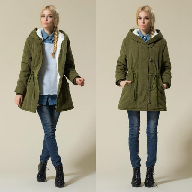Hot Sale Plus Size Winer Coat Women Winter Jacket Cotton Padded Female Long Section Cashmere Coat Winter Jackets Parka 4XL C1612 3