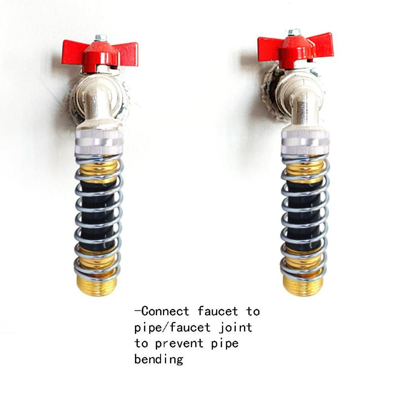 12cm 3/4 Inch Thread Tap Faucet Joint Connector Garden Water Quick Coupling Tubing Pipe Hose Connector