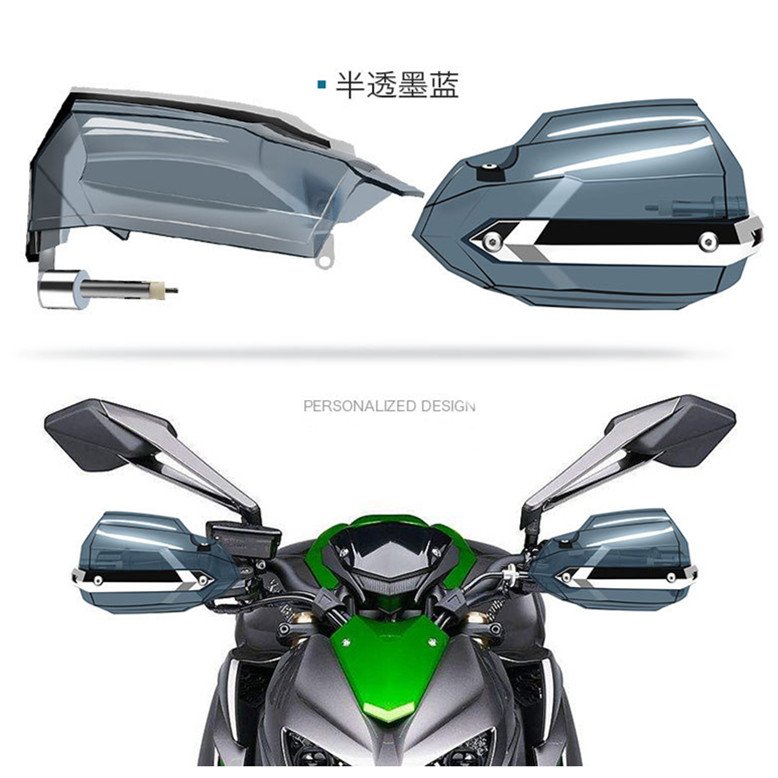 High toughness Motorcycle Handguards Windshield Hand guard universal vento moto hand baffle off-road handlebar for honda yamaha цена