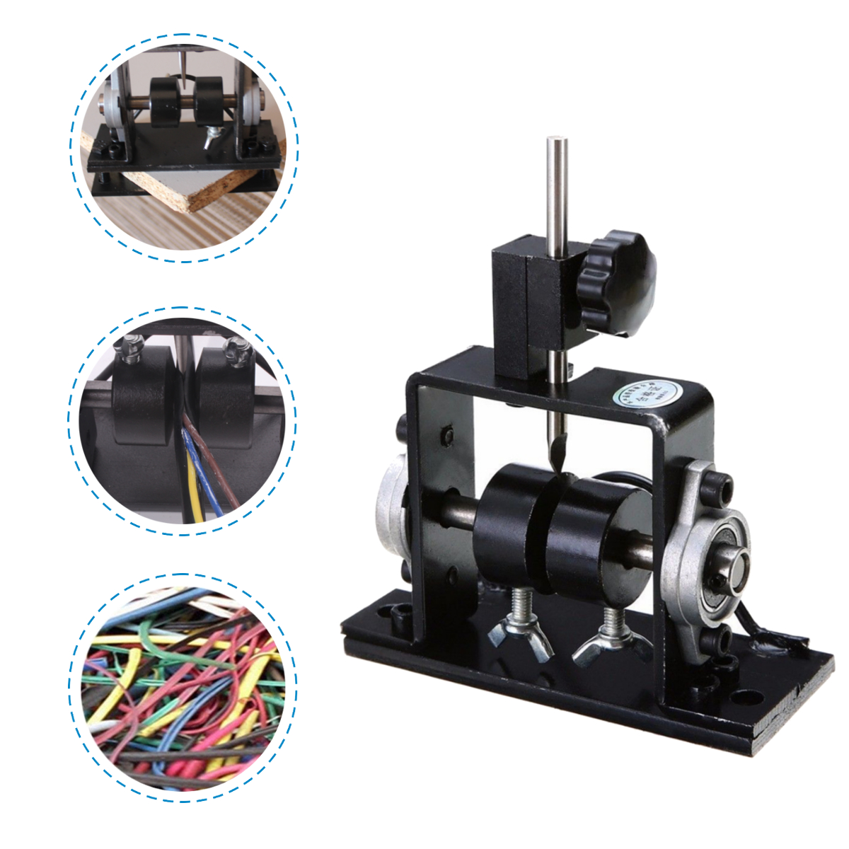 Manual Scrap Copper Wire Stripper Stripping Machine Harness Universal Cable Peeling For Metal Recycle