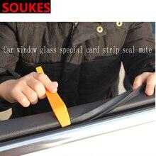 Car Soundproof Seal Window Seat Gap Seam Strip For BMW E92 E53 X3 f25 E34 E46 Audi A6 C6 A5 B7 Q5 C5 Abarth Ford Fiesta Mondeo