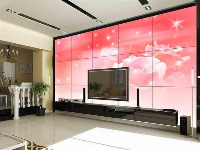 custom 3d photo wallpaper non woven room mural Red rose dream flower ...